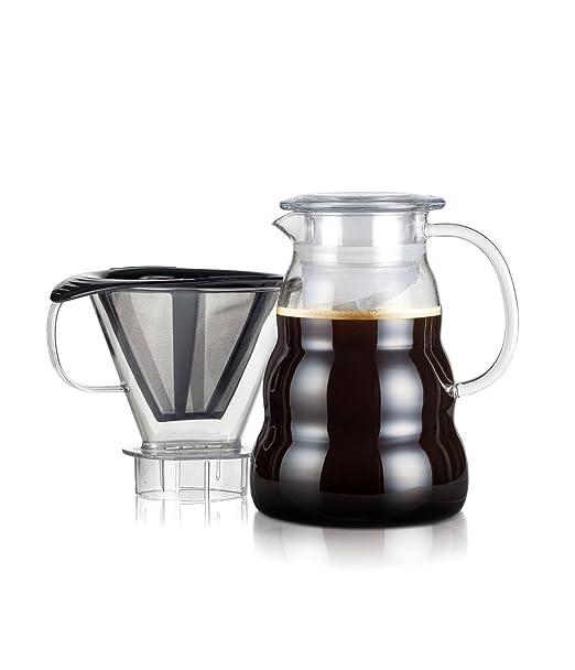 Bodum - 11762-10-01S - Melior - Cafetera de Filtro Permanente de ...