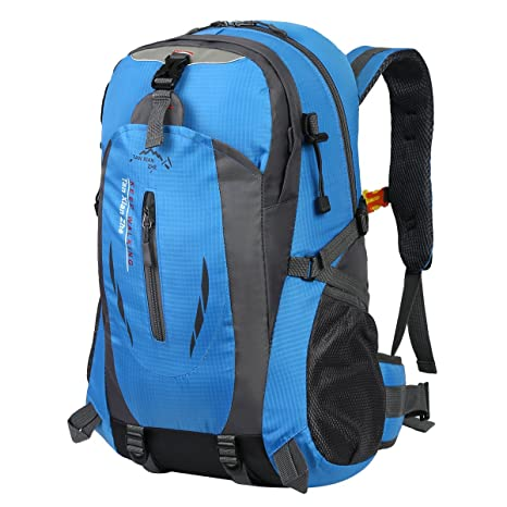 45a0747826 HWJIANFENG Hiking Backpack Trekking Travelling Cycling Backpack Riding  Rucksack Mountaineering Outdoor Sports Daypack Ultralight Laptop Bag  Waterproof Men ...