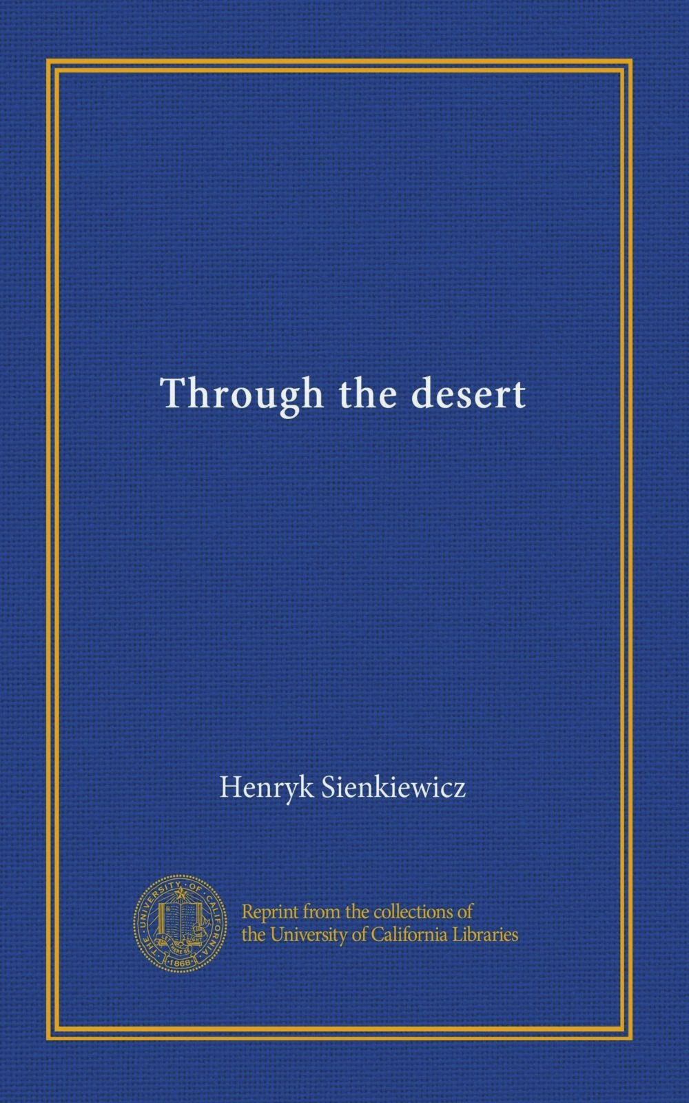Through the desert PDF