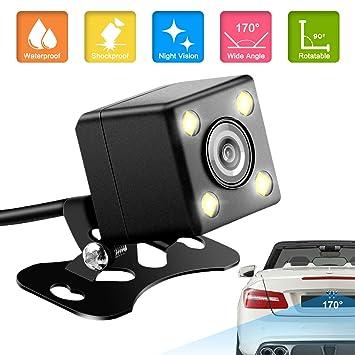 170° Retrocamera Telecamera Retromarcia Auto Parcheggio Camera Night Vision