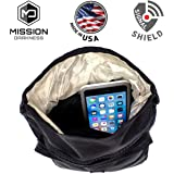Mission Darkness MOLLE Faraday Pouch - for Law Enforcement and Military. Attaches to any bag with MOLLE webbing. Signal Blocking, Anti-tracking, Data Privacy for Phones, Tablets, and other devices