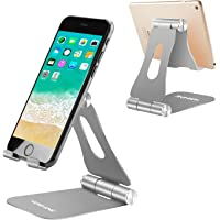 Cell Phone Stand, Yoshine iPhone Stand Adjustable Mobile Phone Stand Tablet Stand Portable Foldable Cell Phone Holder…