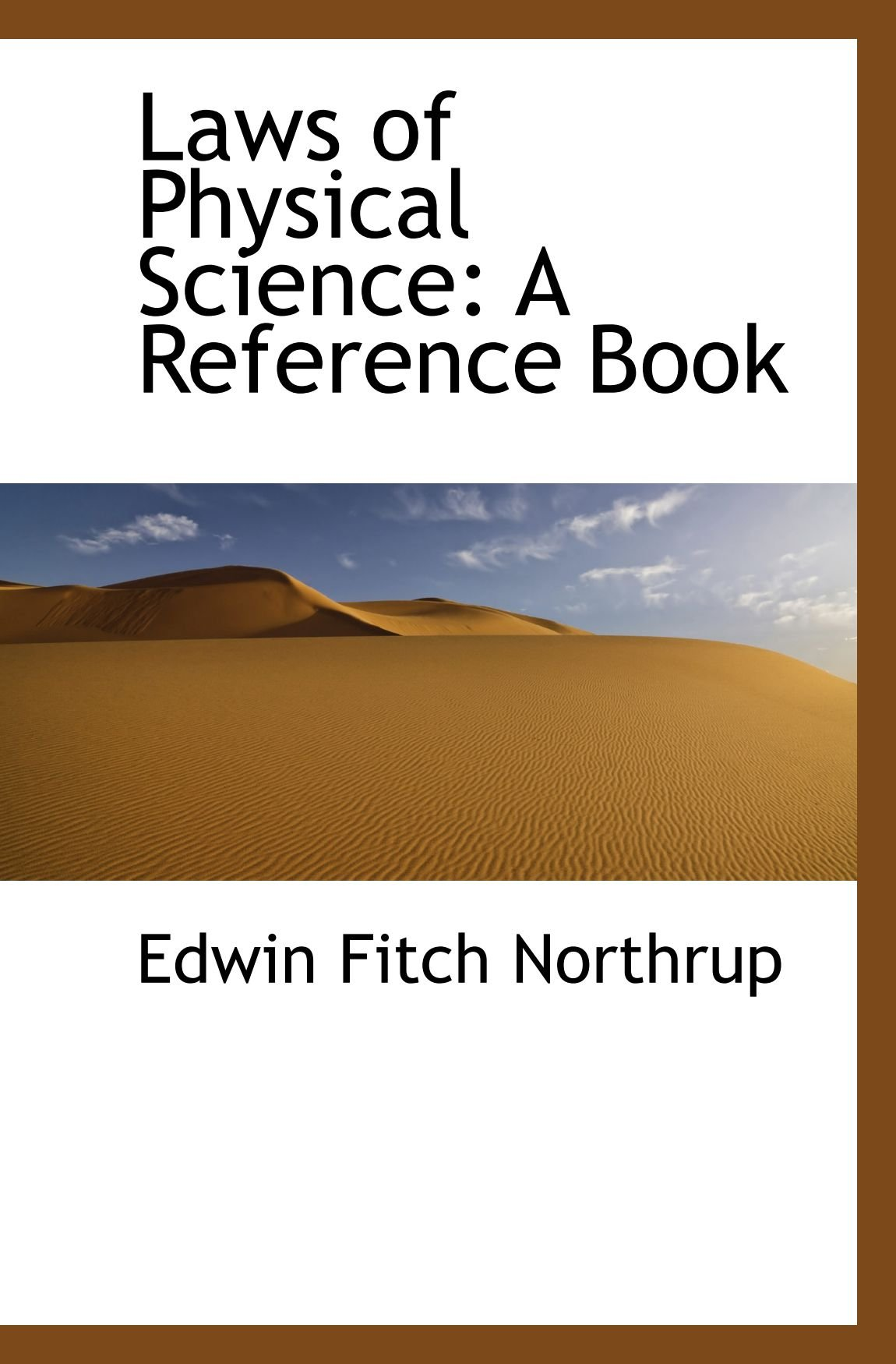Download Laws of Physical Science: A Reference Book pdf epub