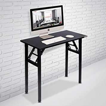 amazon com need small computer desk folding table 31 1 2 length rh amazon com small computer desk with storage small computer desk for sale