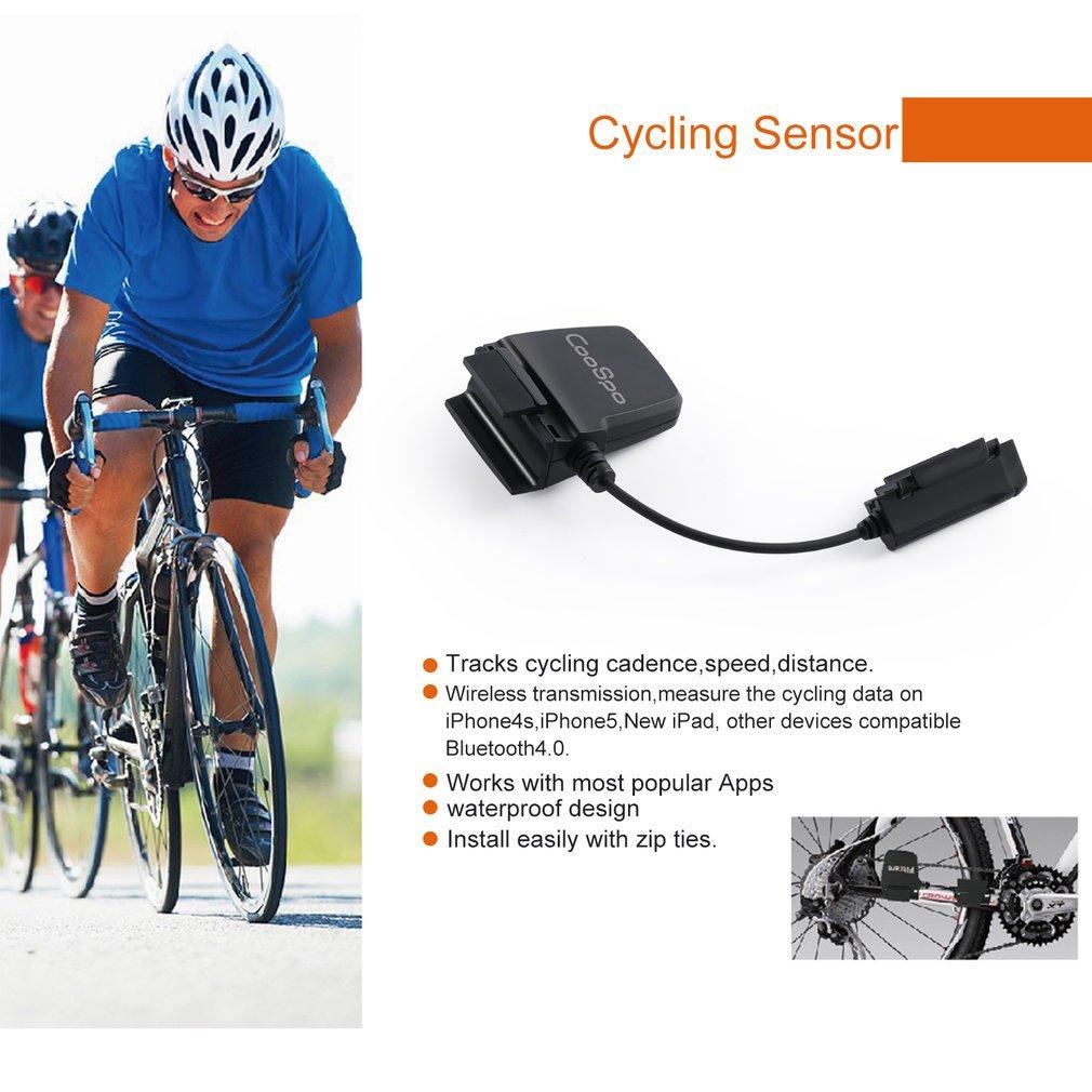 Nero Bluetooth Sensore di Velocit/à e Cadenza RPM Wireless ANT Impermeabile Bike Computer Tracker Fitness Tachimetro per iPhone e Android