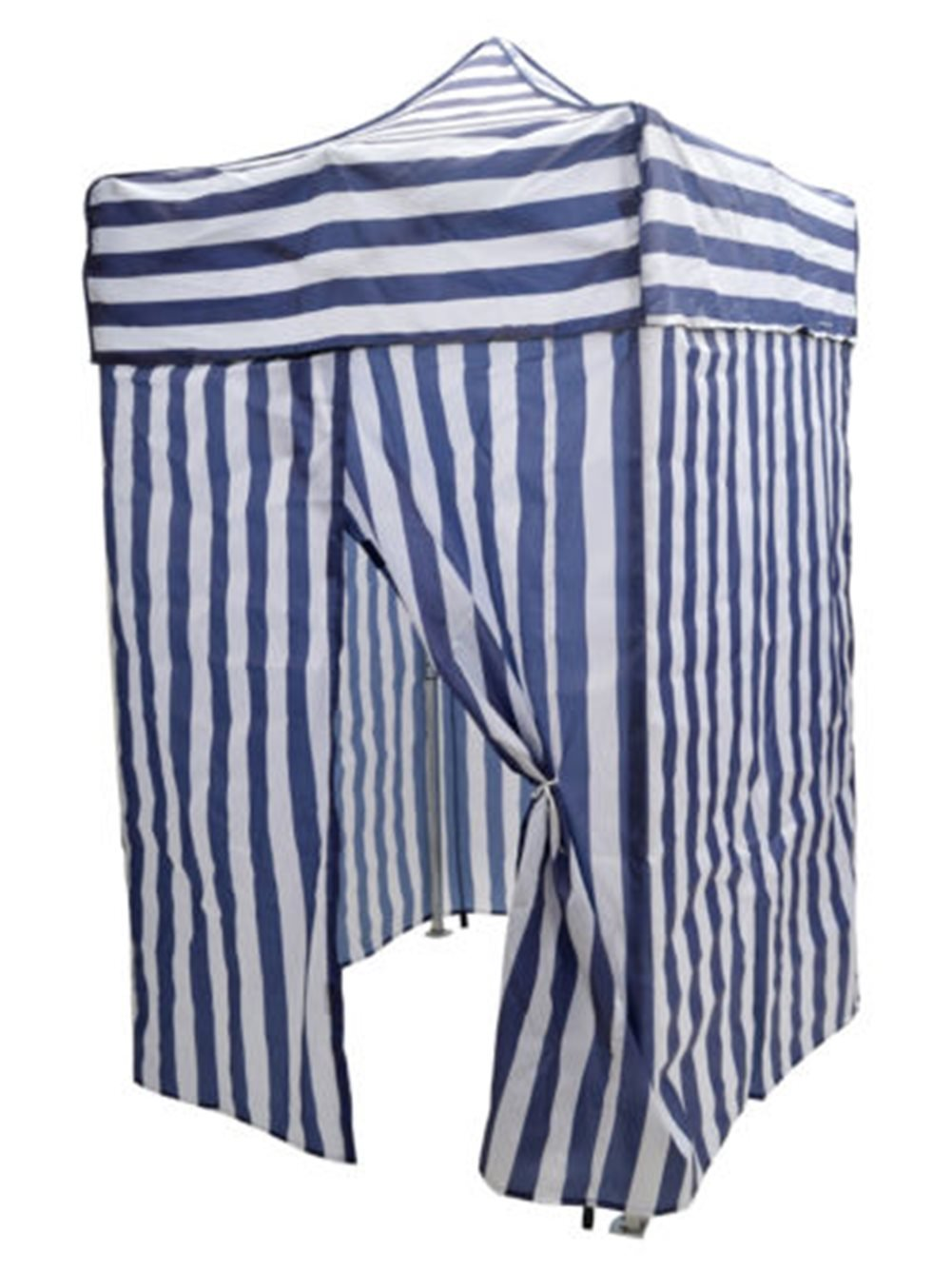 Tent Changing Room Camping Cabana Outdoor Pop Up Canopy Portable Blue Stripe by PTY-Shop-ForU (Image #1)