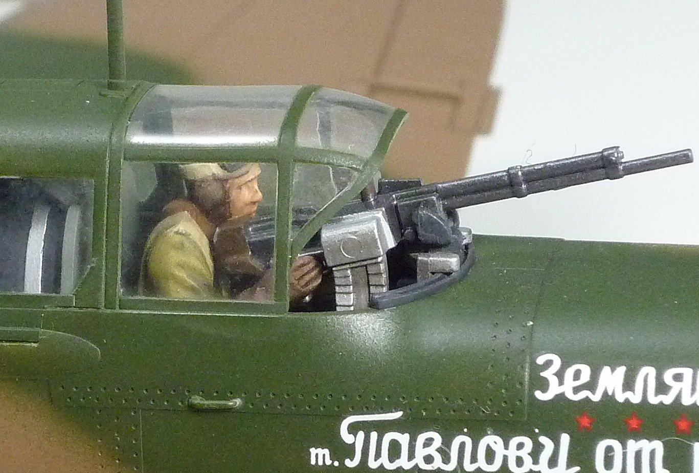 TAMIYA America, Inc 1/48 Ilyushin IL-2 Shturmovik Aircraft, TAM61113 5