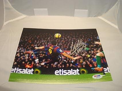 Luis Suarez Signed Auto FC Barcelona 8x10 Picture Soccer ...