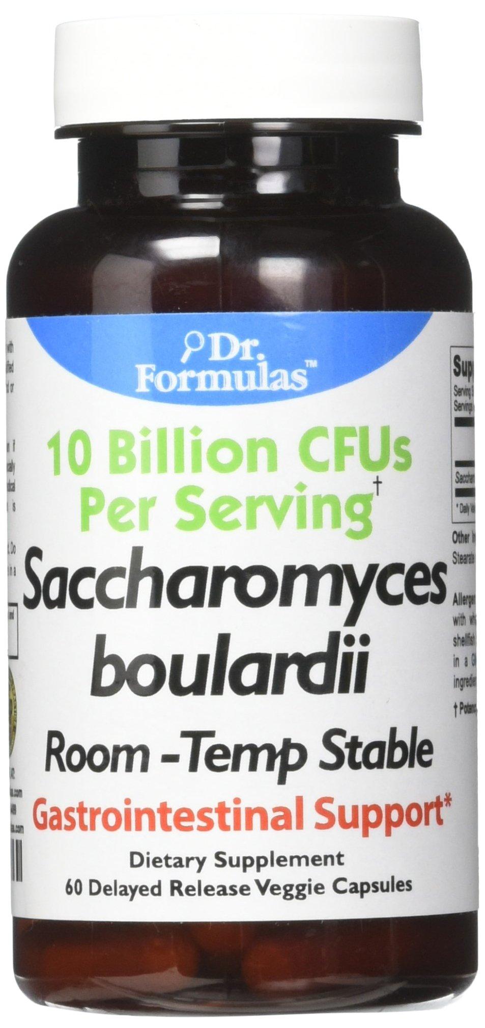 DrFormulas Nexabiotic Saccharomyces Boulardii Probiotics 10 Billion CFUs (Just S boulardii), Intestinal and Digestive Support Supplement, 60 Stomach Acid Resistant Probiotic Capsules …