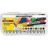 Eberhard Faber 522013 - 12 Ölpastellkreiden in Plastikbox