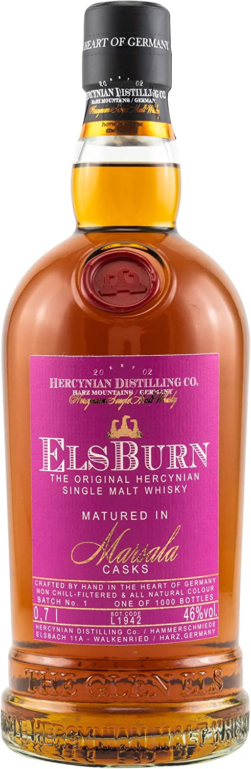 Elsburn Single Malt Marsala Cask