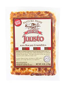 Juusto Baked Bread Cheese with Bacon Crumbles - 3 pack