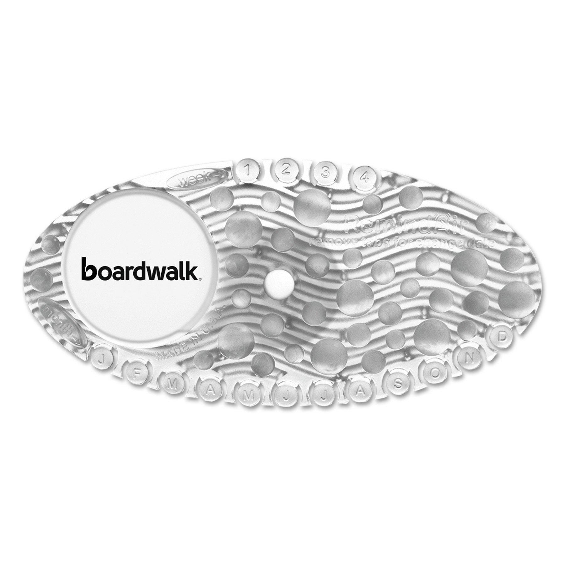 Boardwalk CURVEMAN Curve Air Freshener, Mango, Clear, Box of 10