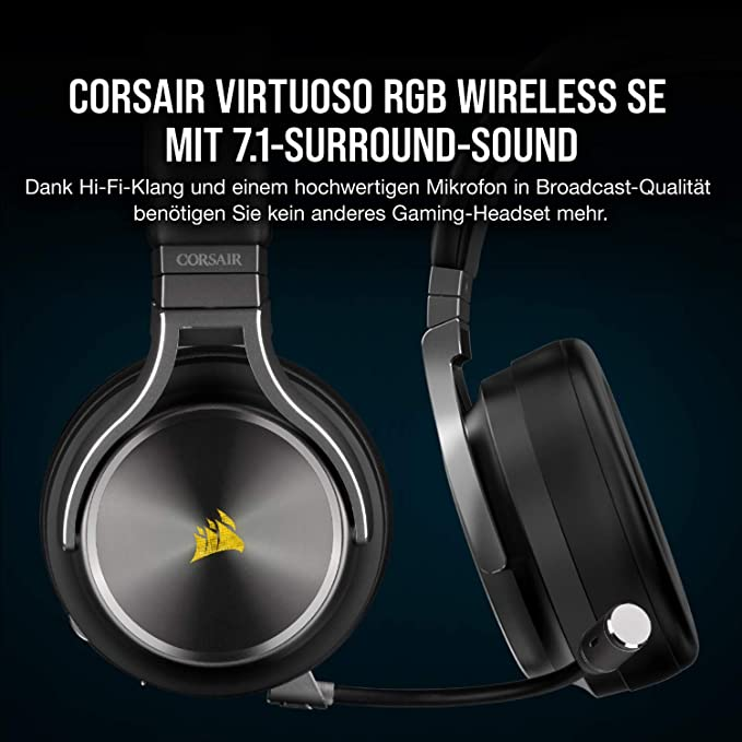 Corsair Virtuoso Rgb Wireless High Fidelity Gaming Headset