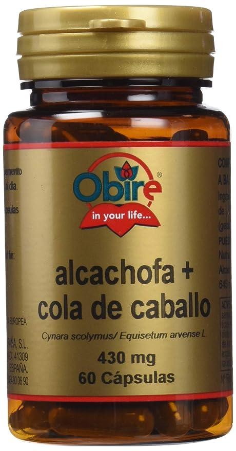 pastillas de alcachofa dosis