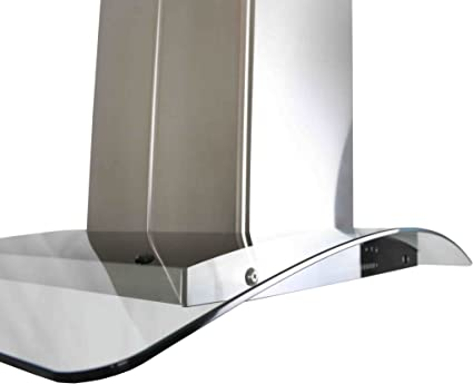 AKDY New 30 European Style Island Mount Stainless Steel Range Hood Vent Swiping Sensor Control W//Both Side Accessible Control