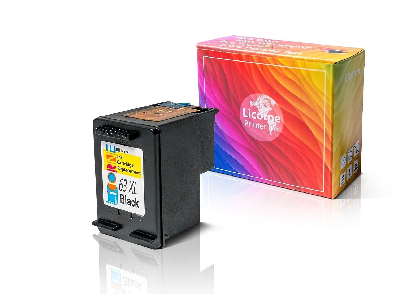 Amazon.com: Licorne 63XL - Cartucho de tinta remanufacturado ...
