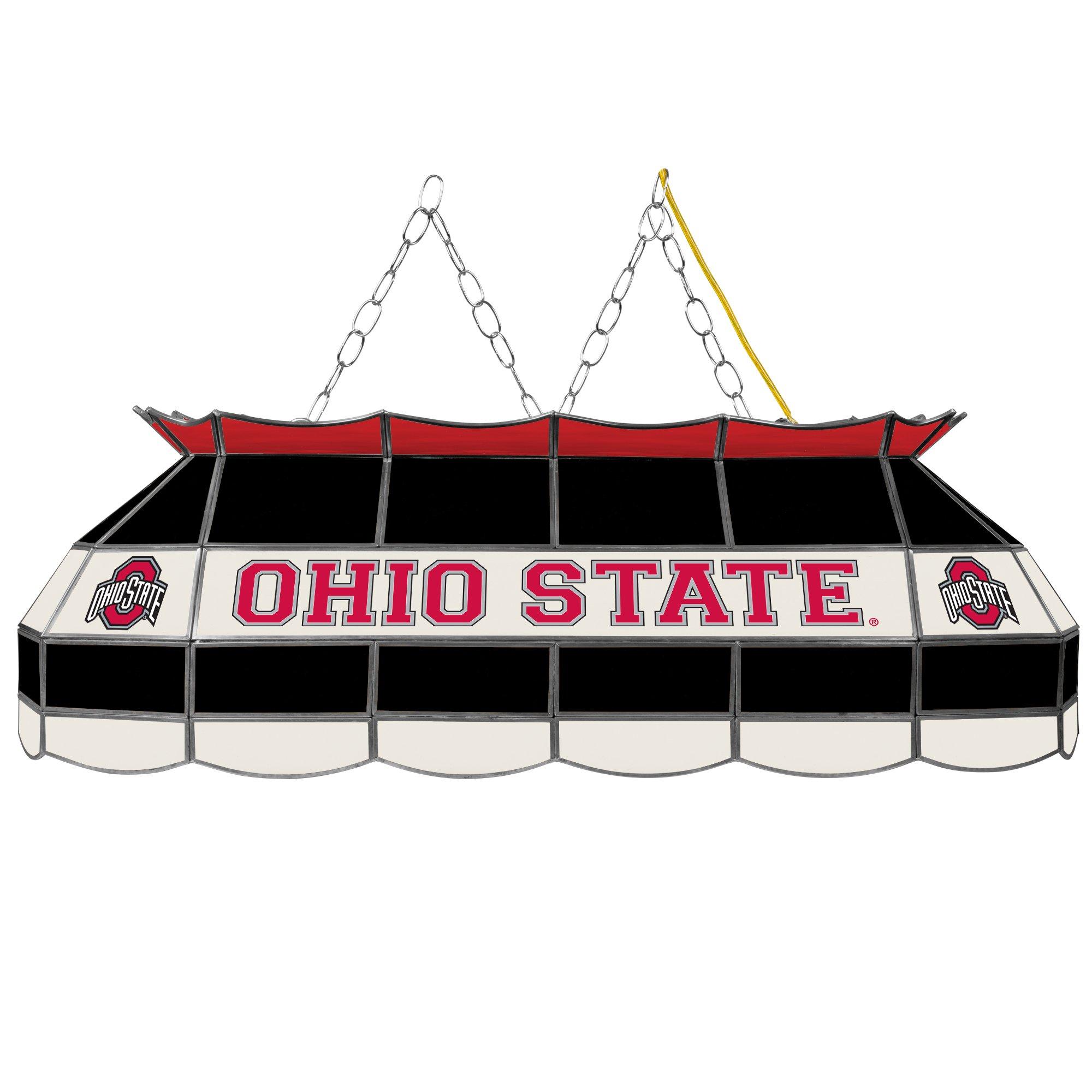 NCAA Ohio State University Tiffany Gameroom Lamp, 40''
