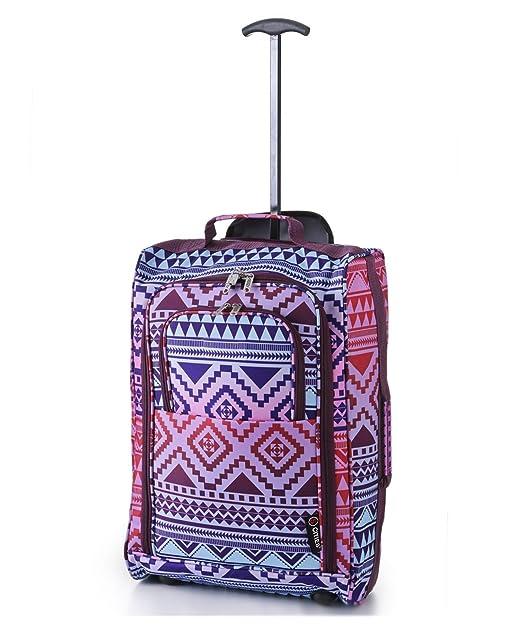 141 opinioni per 5 Cities Cabin Trolley bagaglio 55x40x20cm mano destra , 42 litri (Aztec Multi)