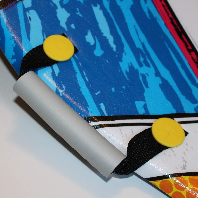 Flexible Flyer Snow Screamer 2-Person Snow Sled. Foam Plastic Double Sno Slider by Flexible Flyer (Image #6)