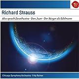 """Richard Strauss : Also sprach Zarathoustra (""""Ainsi parlait Zarathoustra"""") - Don Juan - Der Bürger als Edelmann (""""Le Bourgeois gentilhomme"""")"""