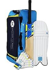 Spartan, Cricket, Michael Clark Cricket Combo Kit, Cricket Set includes cricket bat, cricket gloves cricket pads and cricket bag