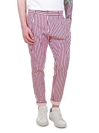 Pantalon 44Vêtements Rouge Katter Neill Homme 0vN8nwm