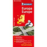 Michelin Europa: Straßen- und Tourismuskarte 1:3.000.000 (Michelin Nationalkarte)