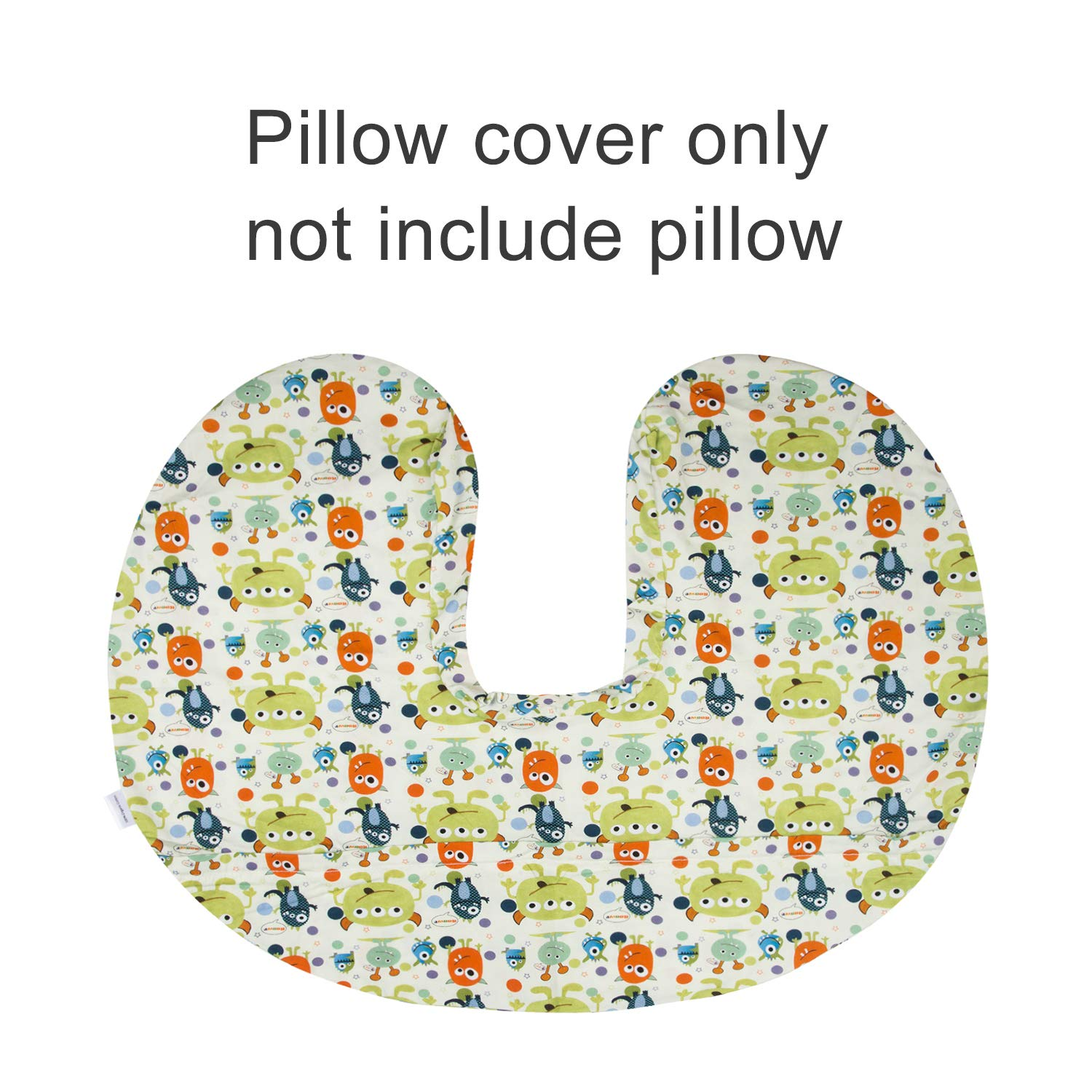 ALVABABY Nursing Pillow Cover Slipcover 100/% Organic Cotton Soft and Comfortable Maternity Breastfeeding Newborn Infant Feeding Cushion Feathers Cover Baby 2 Pack Shower Gift 2UBZT02