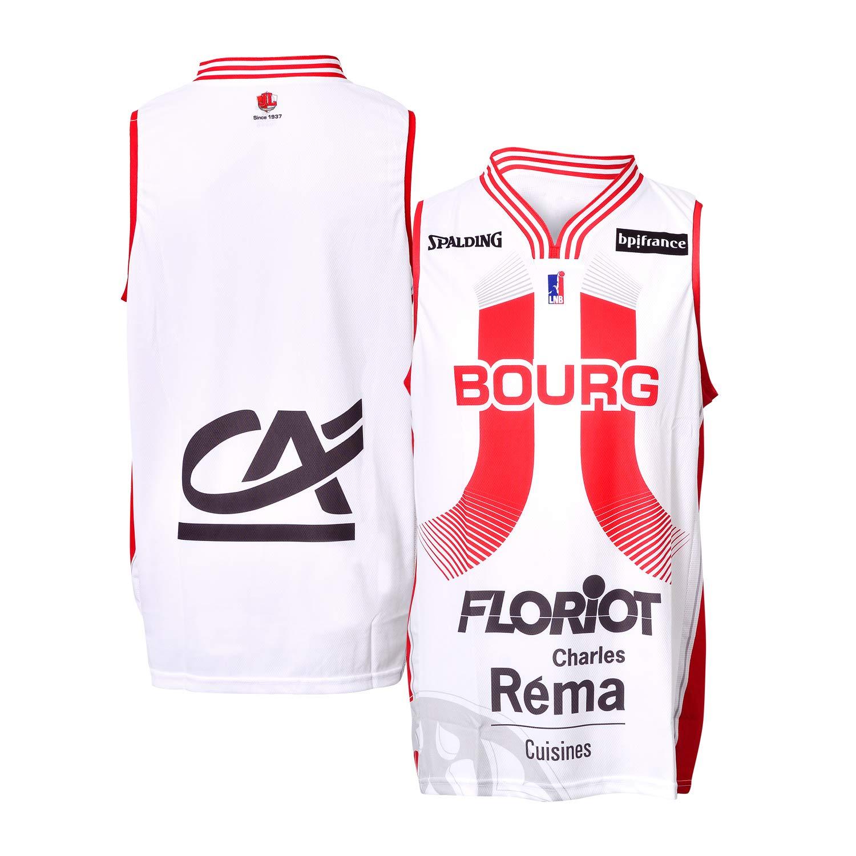 JL Bourg - Camiseta Oficial de Baloncesto 2018-2019: Amazon.es ...