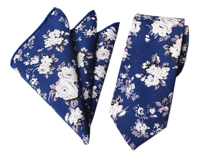 Amazon.com: Juego de pañuelos de algodón para hombre, diseño ...