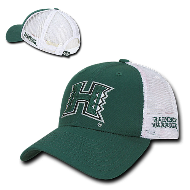 BHFC University of Hawaii Rainbow Warriors NCAA Structured Trucker Mesh Snapback  Baseball Cap Hat at Amazon Men s Clothing store  872439566039