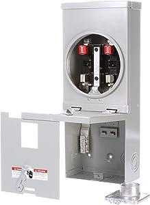 Siemens MM0202ML1100S 100-Amp Meter Main, Main Breaker Not Included