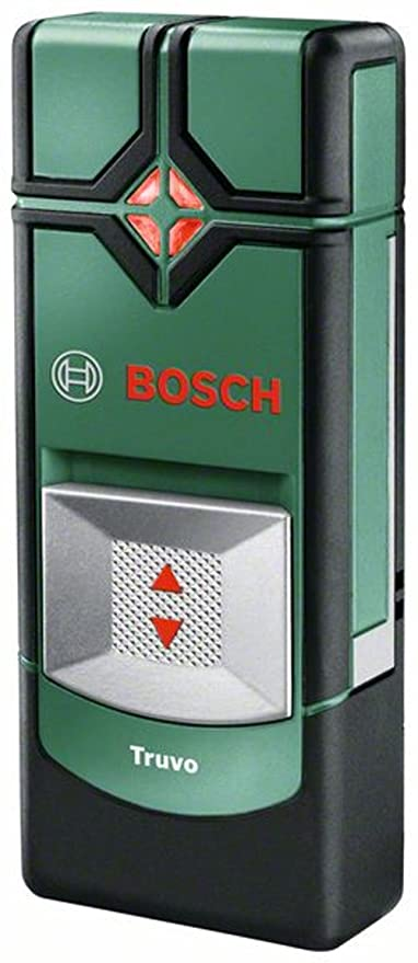 Bosch Truvo - Detector digital en caja metálica (metal ferroso, cable con corriente,