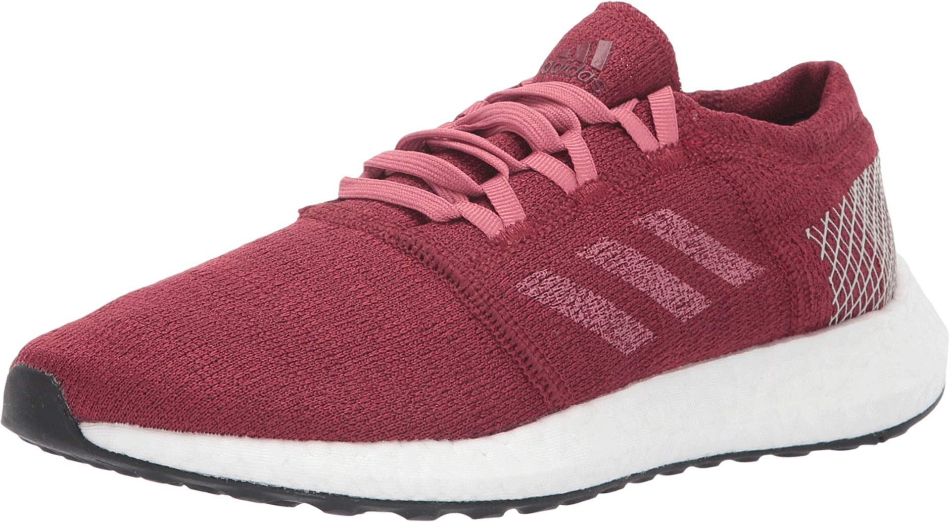 adidas Running Women's Pureboost Element Noble Maroon/Trace Maroon/Clear Brown 5 B US