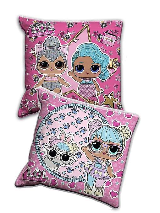 LOL Surprise - Cojín Decorativo para niña, Estampado: Amazon ...