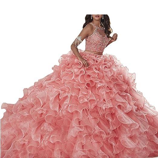 1af9a3234 6 estilos de vestidos de quinceañera de dos piezas que están de moda ...