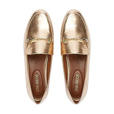 Amazoncom Jenn Ardor Womens Penny Loafers Slip On Flats Comfort