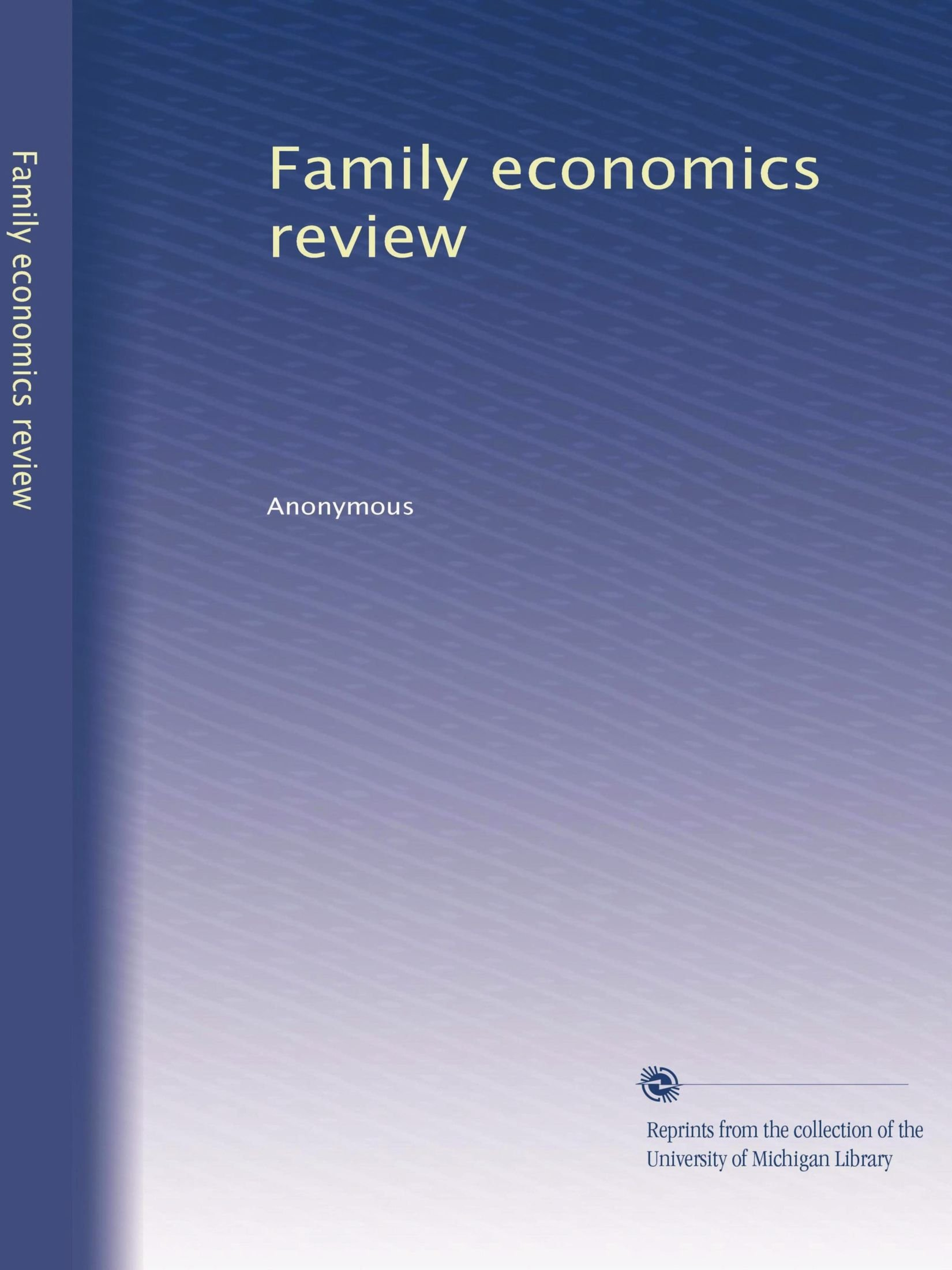 Download Family economics review pdf epub