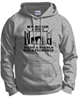 Horse Lover Gift Have a Stable Relationship Funny Hoodie Sweatshirt