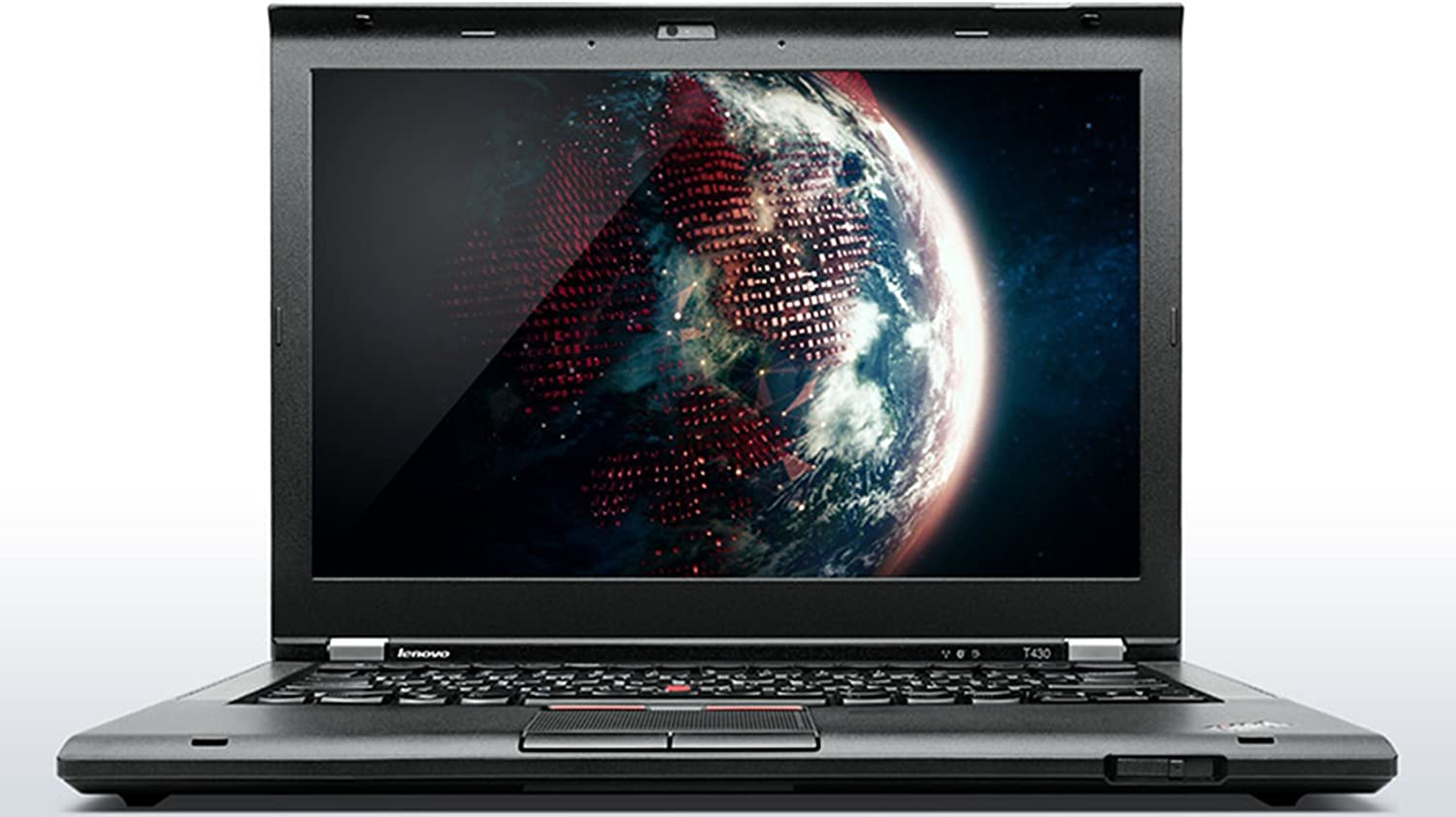 "Lenovo ThinkPad T430 Business Laptop - Windows 10 Pro - Intel i7-3520M, 256GB SSD, 16GB RAM, 14.0"" WXGA (1366x768) Anti-Glare Display, ThinkLight Keyboard Light, DVD/CD-RW, Fingerprint Reader"