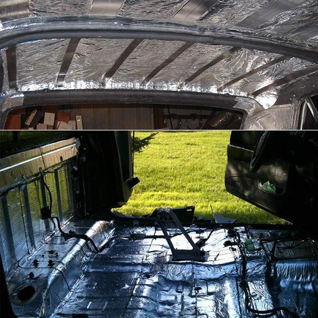 KANGneei Car Sound Deadener Mat Noise Bonnet Insulation Deadening for Hood Engine Sticker