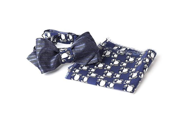 ea65b9985ee53 Bow Tie, Self Tie, Double Sided, Reversible, Pocket Square, Handkerchief,