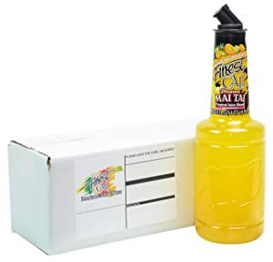 Finest Call Premium Mai Tai Drink Mix, 1 Liter Bottle (33.8 Fl Oz), Individually Boxed