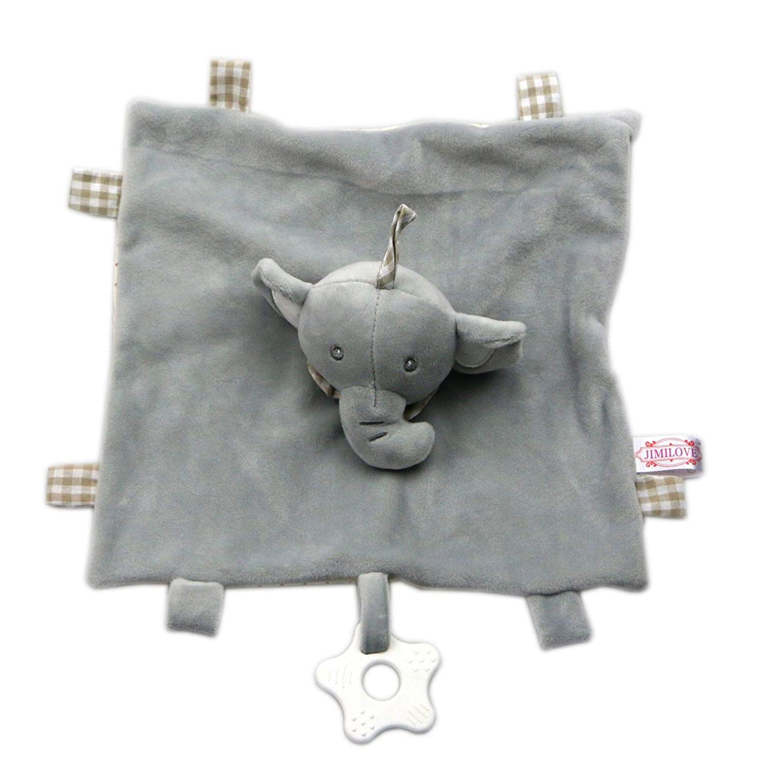 Baby Comforter Toy YANWIN Stuffed Animal Elephant Comfort Blanket Plush Toys for Infant//Baby Security Soft Appease Towel