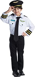 Pilot Role Play Set Costume for Kids  sc 1 st  Amazon UK & Airline Pilot - Kids Costume 3 - 5 years: Pretend to Bee: Amazon.co ...