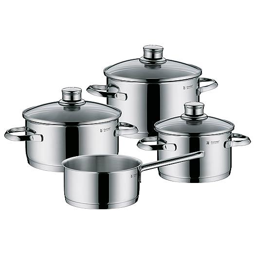 WMF Saphir Batería de Cocina (4 Piezas), Acero Inoxidable ...