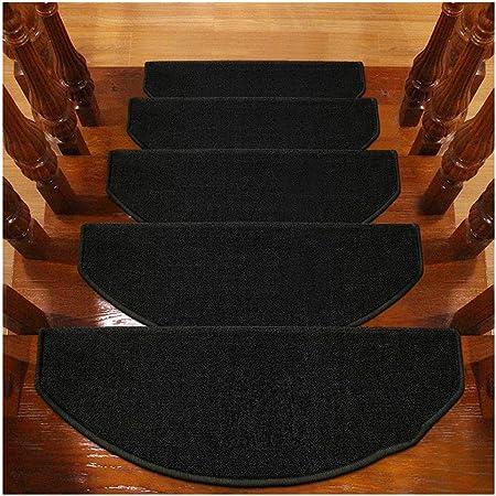 Alfombras de Escalera Alfombrillas para Escalón Tapetes Cojines Piso Mat Alfombras para Escaleras Antideslizantes Y Adhesivas 6mm 5 Tamaño (Color : F, Size : 15PCS 24X100CM): Amazon.es: Hogar