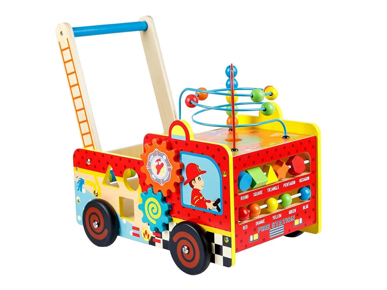 Lauflernwagen Feuerwehr - Kinderplay Feuerwehr Motorikwagen