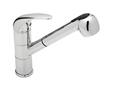 Blanco 440523 Torino Kitchen Faucet With Pullout Spray Chrome
